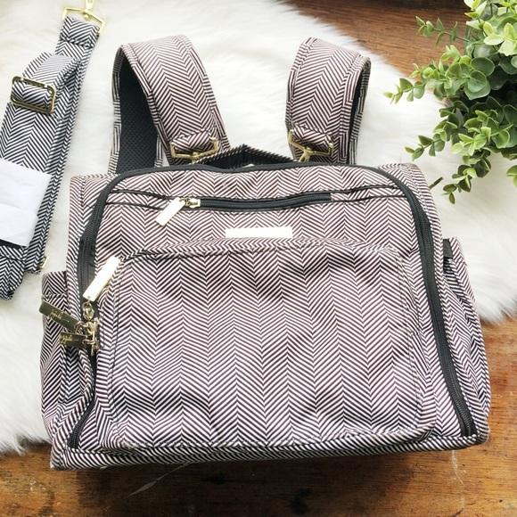 ac92279ff88f Ju-Ju-Be Handbags - Jujube BFF Queen Nile Chevron Diaper Bag Backpack